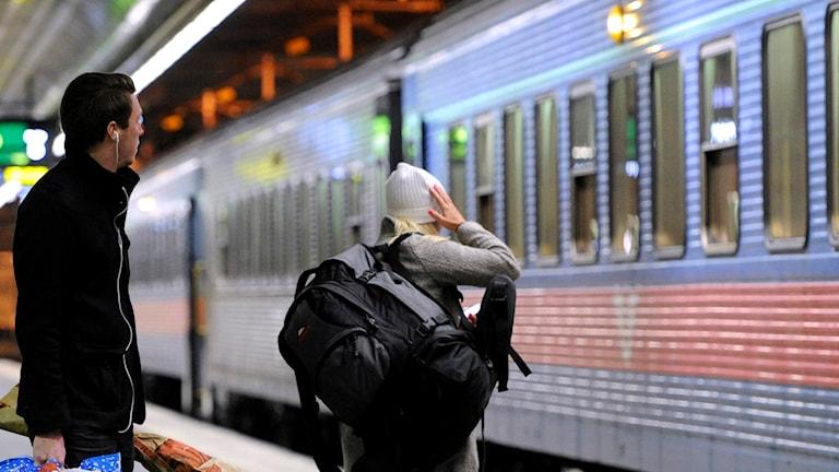 tåg perrong central