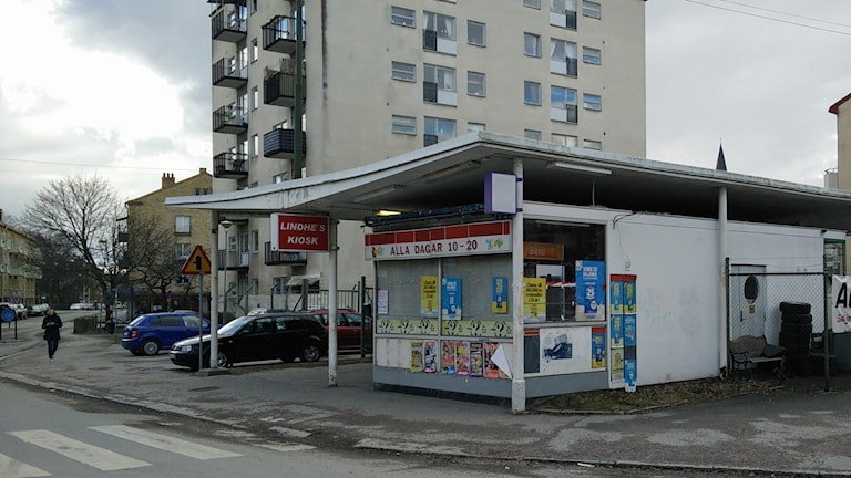Kiosk norr Längbrotorg Örebro