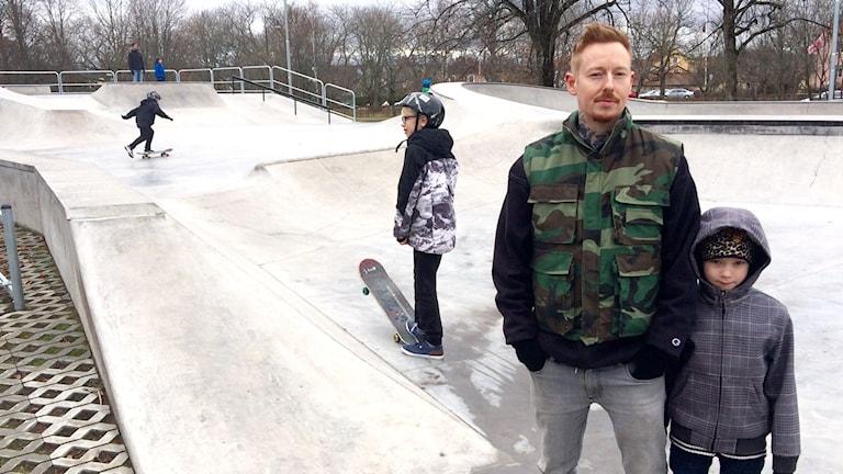 Daniel Nätterdahl, Örebro skateboardpark