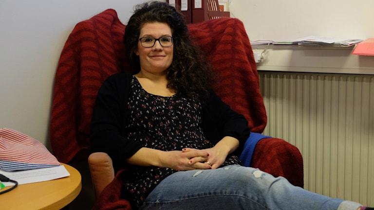 Anna Rozenbergs, kurator, Introduktionsprogrammen, Virginska skolan