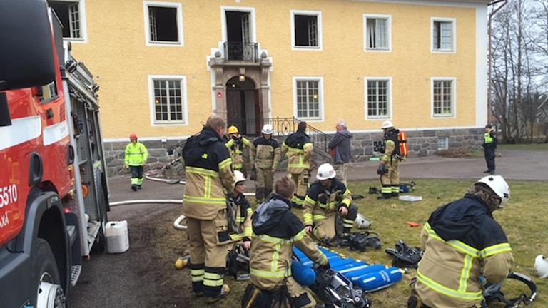 Nerikes brandkår räddningstjänst brand