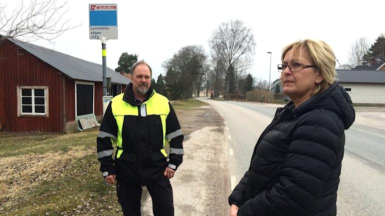 Anders Engdahl i Stora Forssa och Lotta Isaksson i Sänna har tröttnat.