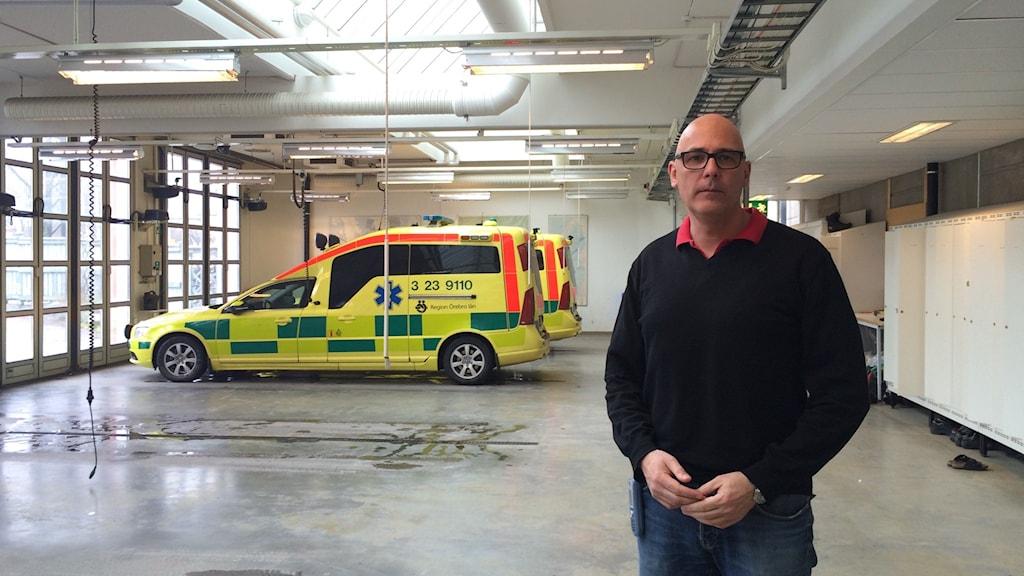 Regionen skickar ambulans från Örebro till Byrsta.