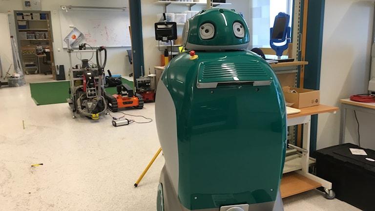 Robotlabbet Örebro Universitet