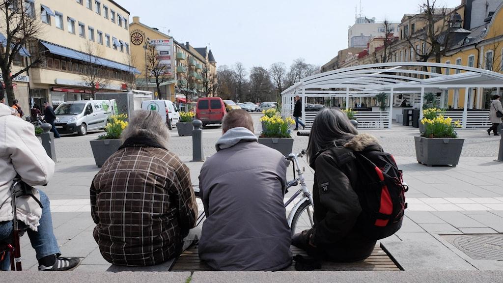 Hemlösa, likkistan i Örebro, anonyma.