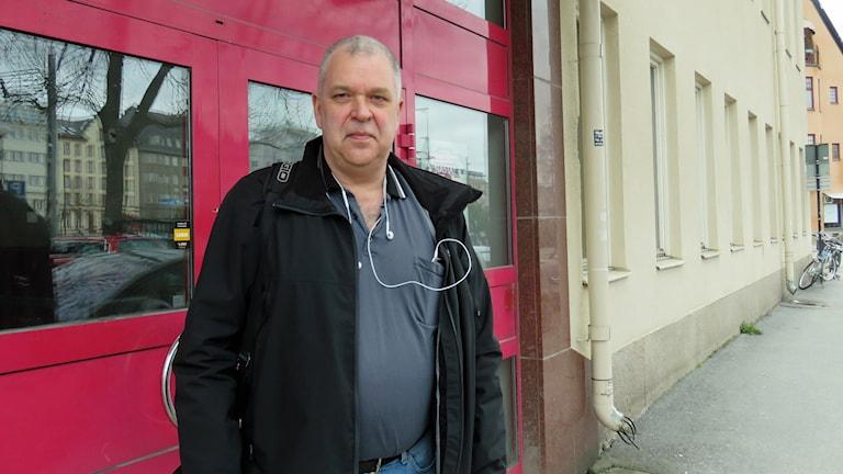 Kenneth Svärd, ordförande för Byggnads Örebro/Värmlands region