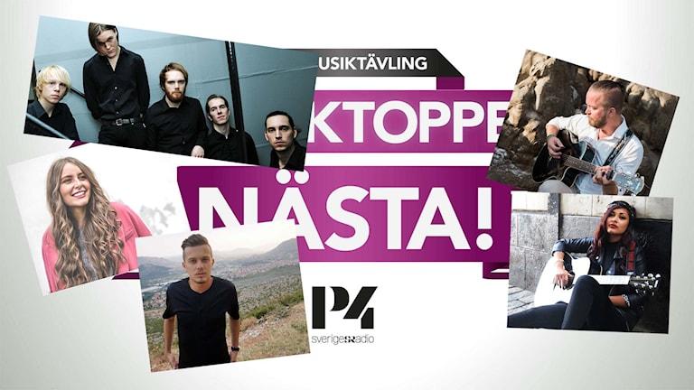 Svensktoppen nästa 2016 startfältet i Örebro län