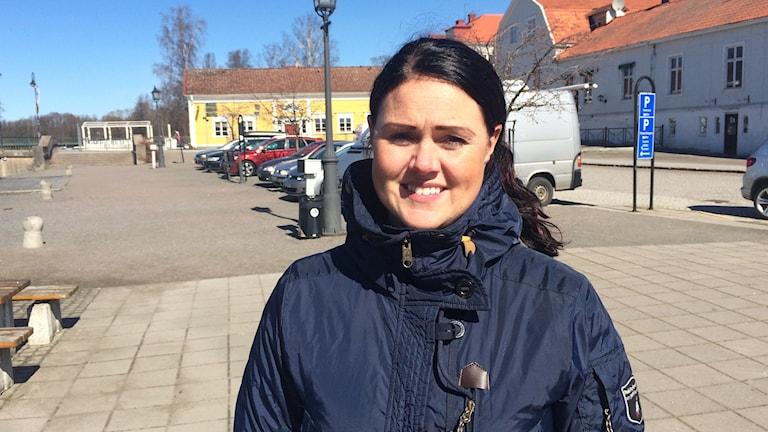 Sofia Fredriksson, näringslivsutvecklare i Askersund.