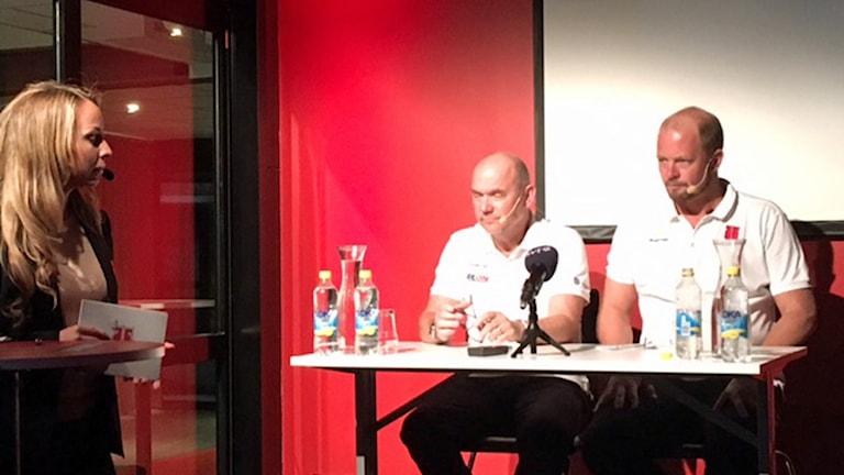 Örebro hockey presskonferens