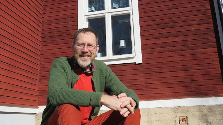 Jan Vallentin socialpsykiatrin Kumla stort rött hus
