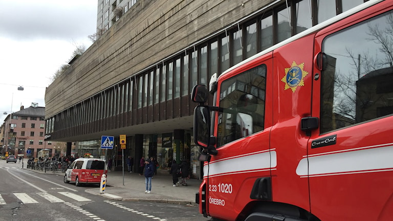 Brandbil brand räddningstjänst Nerikes brandkår