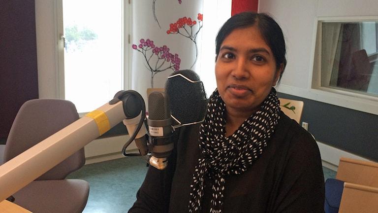 Karin Wouda är integrationskoordinator i Ljusnarsbergs kommun.