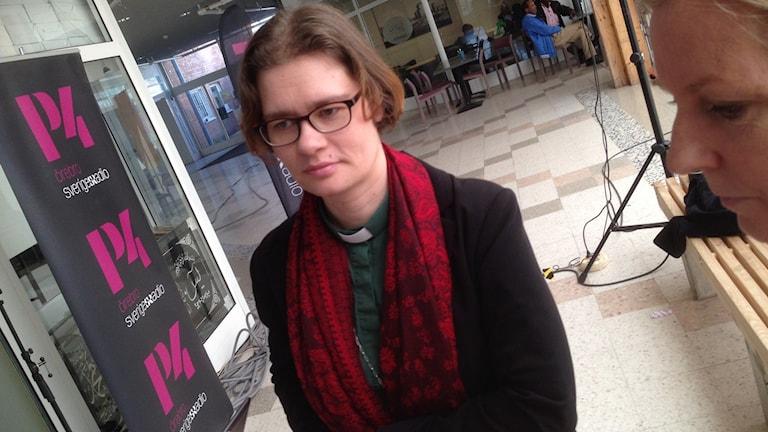 Kajsa Olofsson, diakon vid Mikaels församling i Örebro.