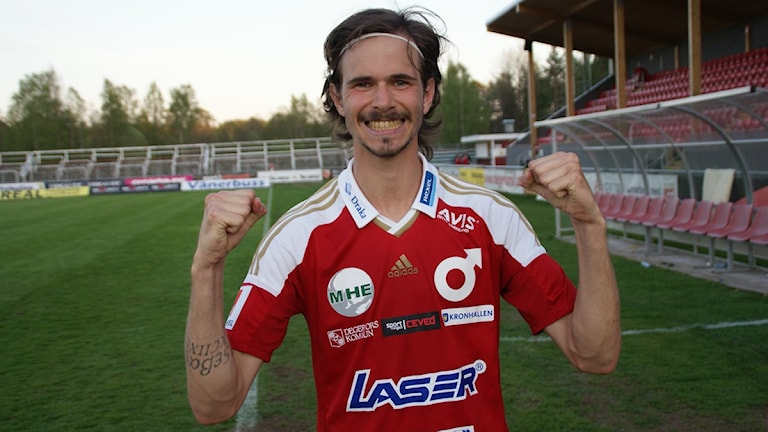 Sebastian Ohlsson, en av matchen dominanter. Foto: Lasse Hellstrandh/Sveriges Radio