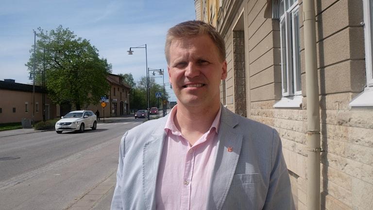 Fredrik Nordvall, skolchef Hallsbergs kommun.