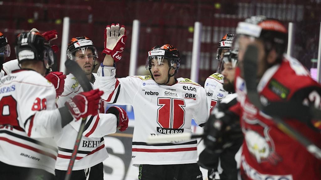 Örebro vann på övertid över Malmö i SHL.