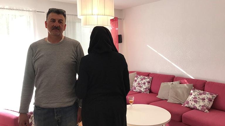 Ahmed Fawaz, hans vuxna dotter och två barn vräks av Öbo.