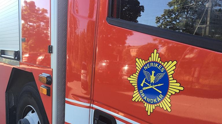 Nerikes brandkår räddningstjänst brand brandbil brandkåren räddningstjänsten