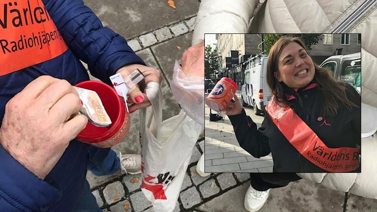 Världens barn 2017 i Örebro län  Regionsamordnare Madde Klippel.