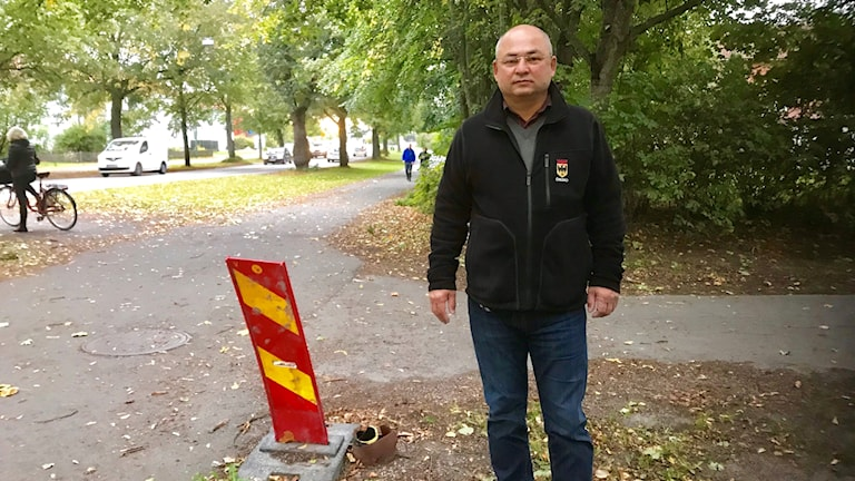 Ataniyaz Ataniyazov, gatubelysningsingenjör Örebro kommun.