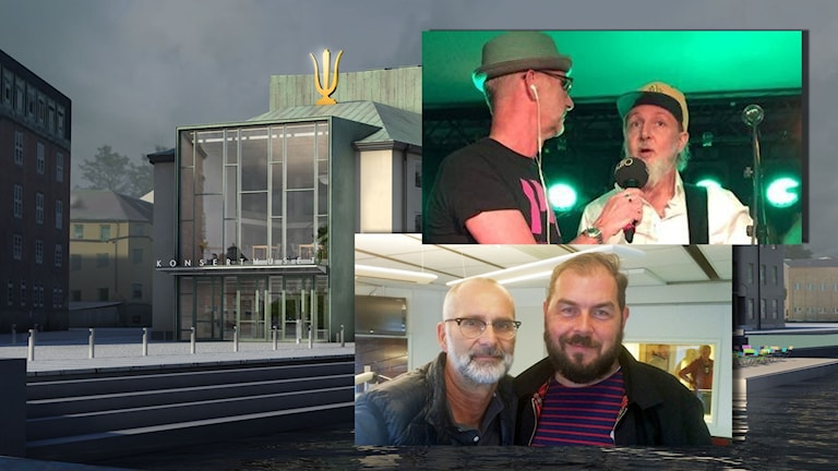 Radiosessions med Arne Holmberg, Aske Jacoby och Alexander Axén