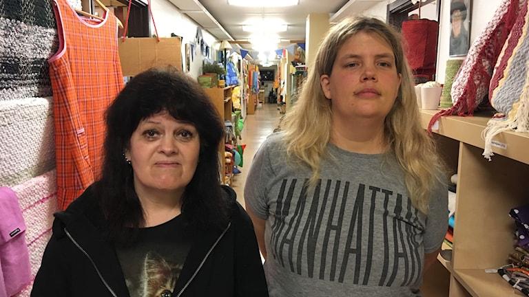 Anette Ekström och Torunn Sandin