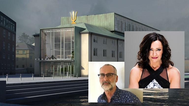 Radiosessions i P4 Örebro med Arne Holmberg och Maria Möller