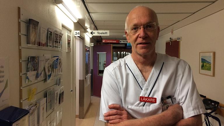 Lars-Göran Larsson, överläkare Lindesbergs lasarett
