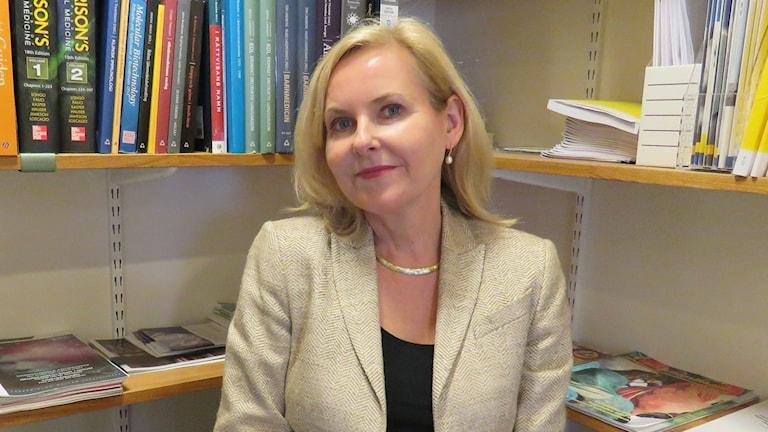 Maria Palmetun Ekbäck, chef för Läkemedelscentrum i region Örebro län.