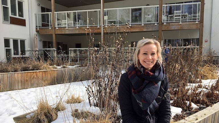 Marie Björklund, verksamhetschef för Attendo Rynningviken.
