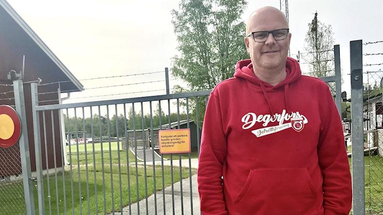 Patrik Werner, sportchef Degerfors IF.