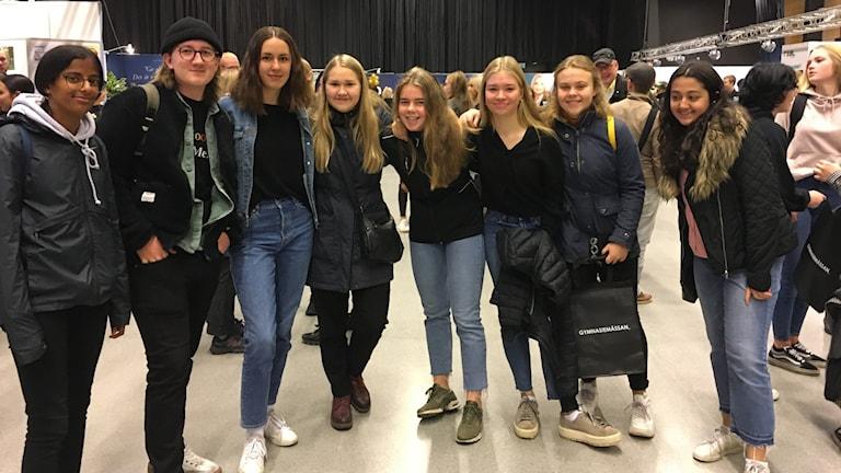 Karlsängskolan, Nora, Gymnasiemässan 2019