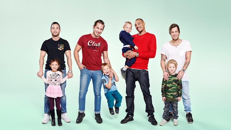 """Billy Granberg från Örebro medverkar i nya tv-serien """"Pappaliv"""" följer en grupp ensamstående pappor."""