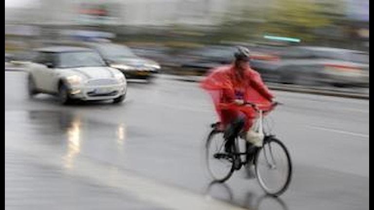I dag sker 46 procent av alla resor i Örebro till fots, cykel eller med kollektivtrafik