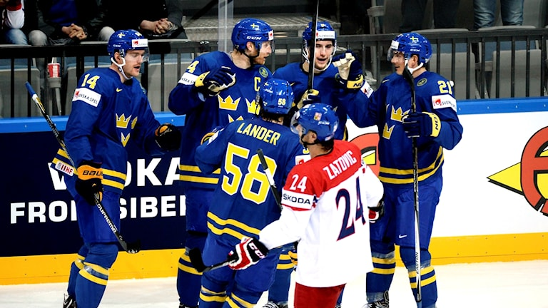 Tre Kronor möter Tjeckien i Behrn arena.