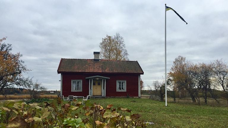Sommartorpet står ett stenkast från Lillån i Örebro.