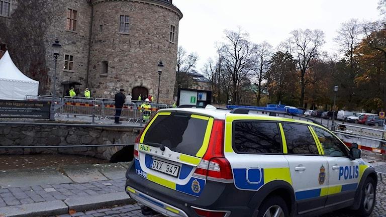 Slottet i Örebro intrång