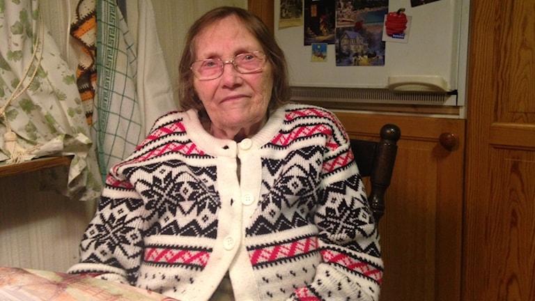 91-åriga Margit Varga tycker att hemtjänsten fungerar dåligt.
