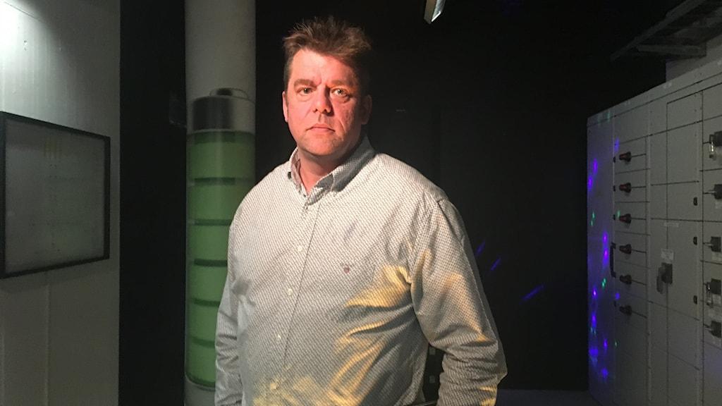 Jonas Tannerstad, el- och automationschef på ÖBO
