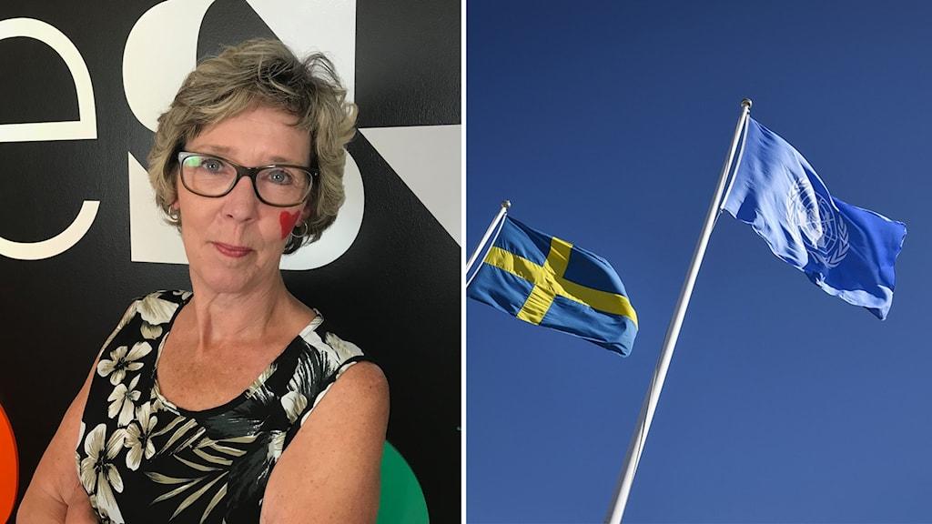 Marie Magnusson (KD), förskolenämndens ordförande.