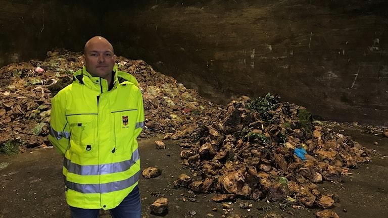 Ola Eklöf är planerare inom avfallssektorn i Örebro kommun