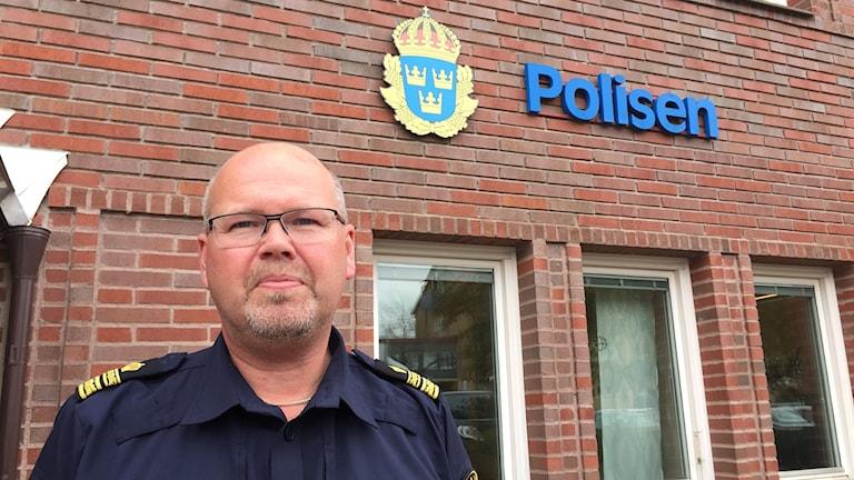 Thomas Jäderqvist, lokalpolisområdeschef, Karlskoga.