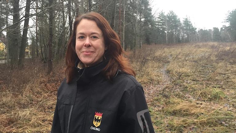 Therese Aremyr, ekolog, Örebro kommun.