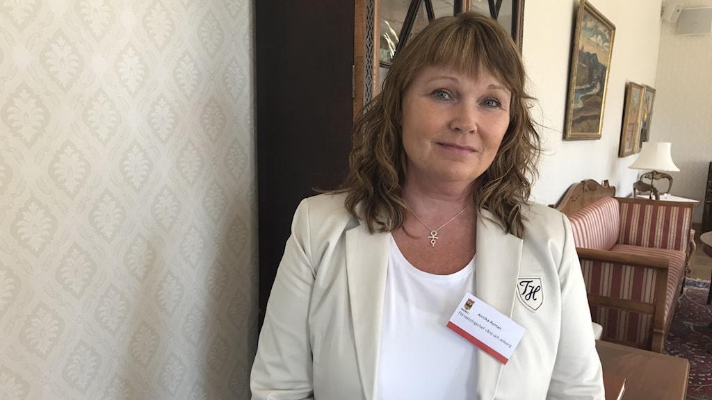 Annika Roman, förvaltningschef vård- och omsorgsförvaltningen.