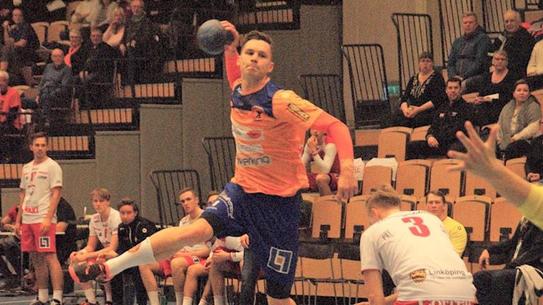 Jesper Nilsson gör ett av sina tio mål