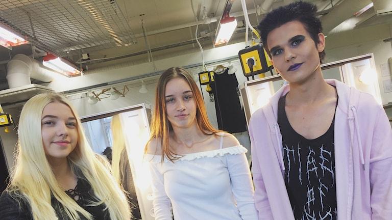 Emilia Johansson, Jennifer Johansson och Jonathan Johansson börjar på Virginska skolan.
