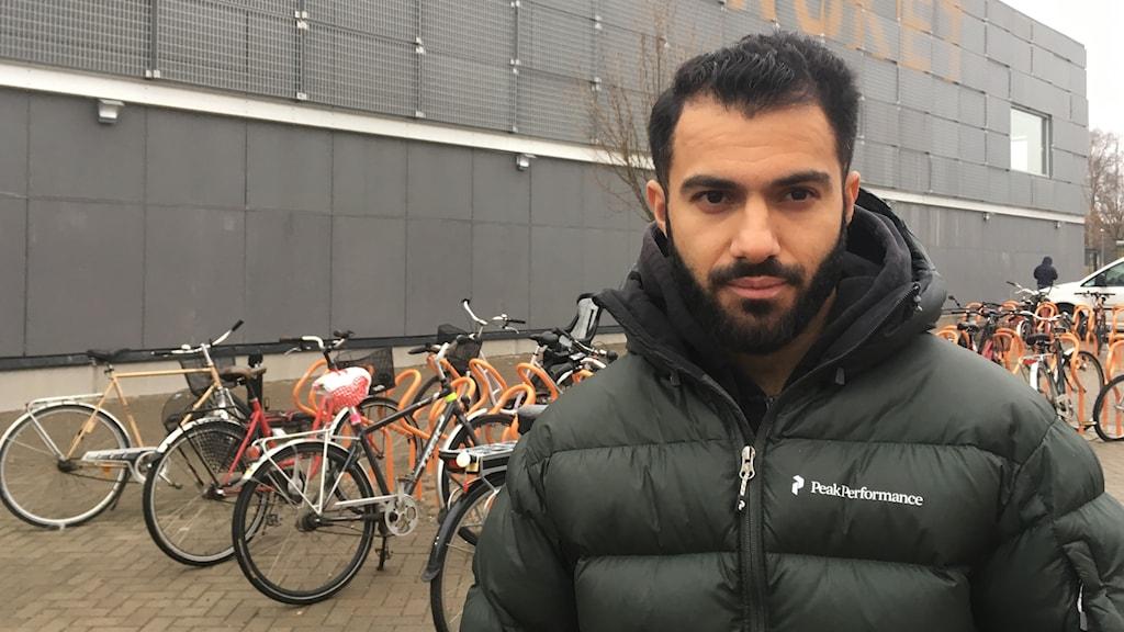 Mohammad Arvan, skådespelare och teaterpedagog på Tegelbruket
