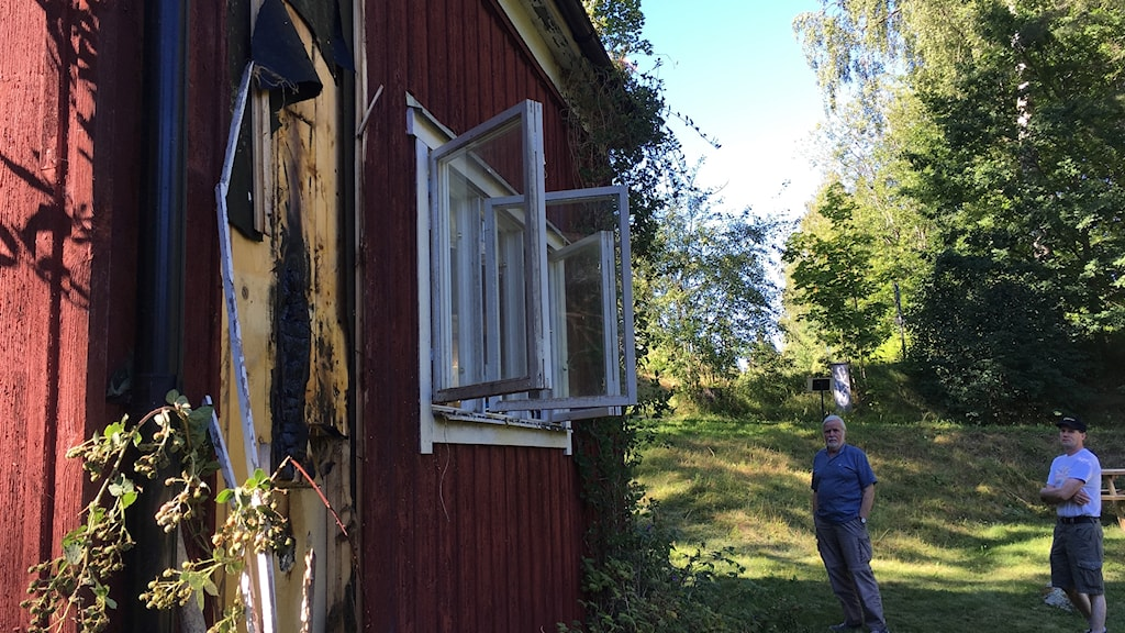 Brand i biodlarföreningen Karlslund