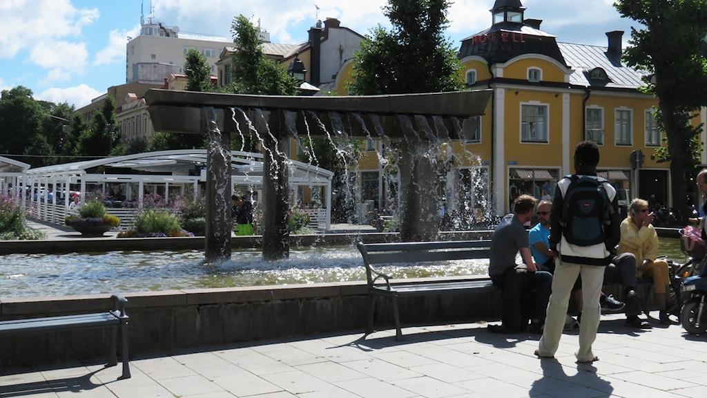 likistan, Örebro, fontän, stortorget, stora torget