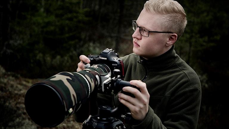 Jonas Classon naturfotograf från Örebro